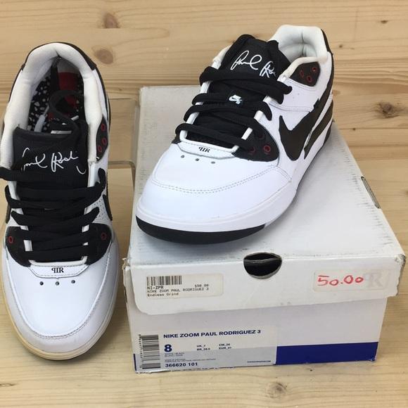 bangio arrivo Hassy  Nike Shoes | Zoom Paul Rodriguez 3 Size 8 Whiteblack Nib | Poshmark